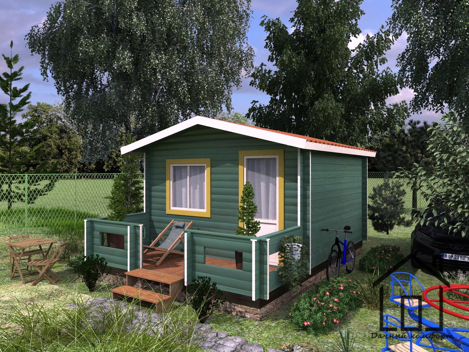 Картинки домик у озера летом вот маленькие